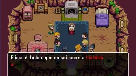 A Lenda de Zelda - Eixos da Escuridão (Intro + Gameplay)