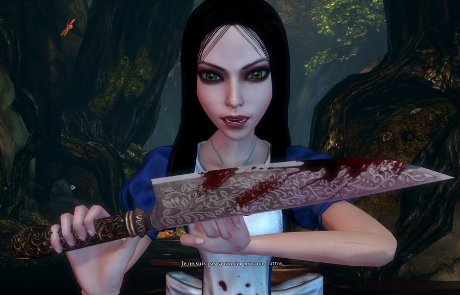 Creepypasta The Fighters Alice Liddell Making The