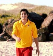Zac on the beach