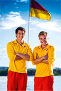 Zac and cam as lifeguards