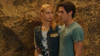 Lyla and Zac in Trident Cave