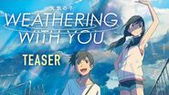 Weathering With You Official Subtitled Teaser, GKIDS - JANUARY 17