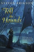 Toll the Hounds cover by Marc Simonetti