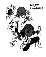 Quick Ben and Kalam Mekhar by Sarinjin