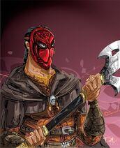 Redmask by Dejan Delic