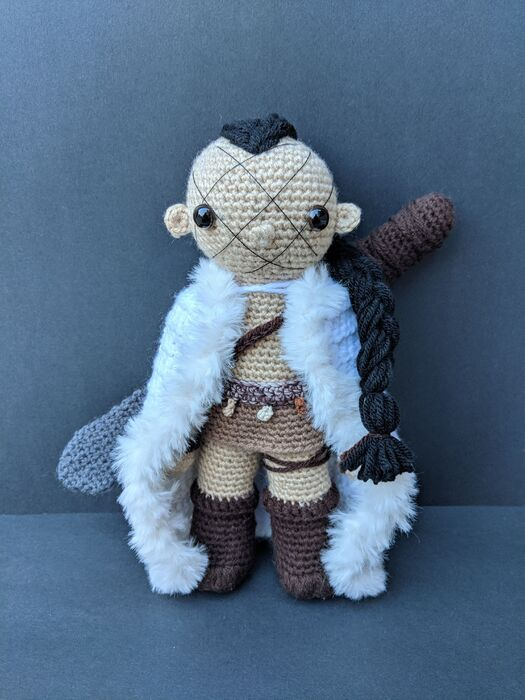 2019 Karsa Orlong by Crochet Me Curios