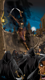 The Shadow Dance by Dejan Delic