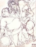Kruppe and Hetan by Shadaan