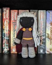 Anomander Rake by Crochet Me Curios