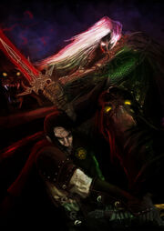 Paran and Anomander by slaine69
