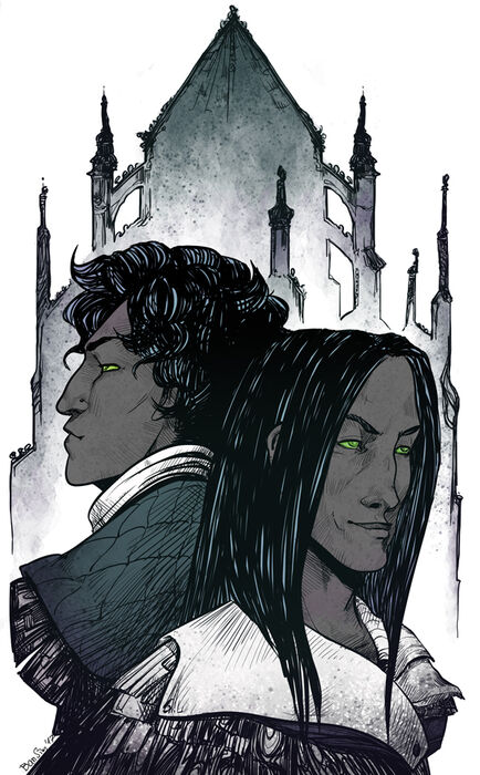 Prazek and Dathenar by Autumn Tavern