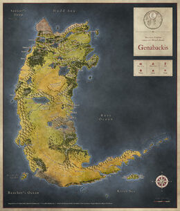 Genabackis V4 by Joshua Butler
