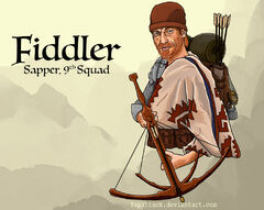 Fiddler sapper 9th squad by yapattack