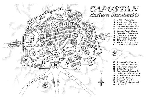 Map Capustan