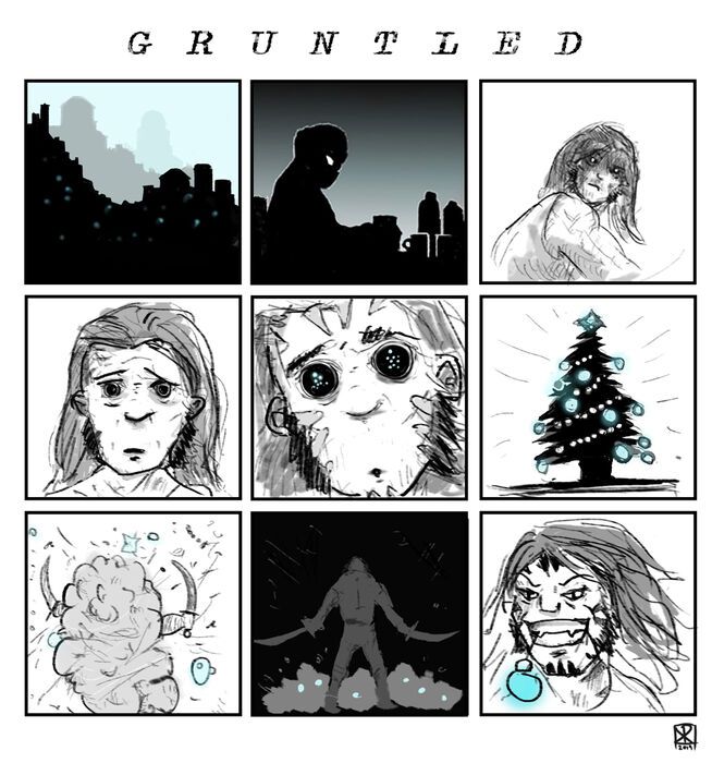 2019 - Gruntle xmas by Corporal Nobbs