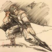 Trull Sengar sketch by Patrick Lugo
