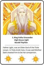 Card 1. king Vatha Urusander