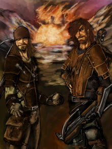 Hedge and Fidd by slaine69