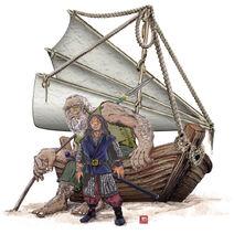 Traveller and Ereko II by PLUGO