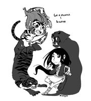 Gruntle and Kilava by Sarinjin