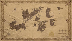World map by Corporal Nobbs