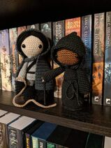 Cotillion and Shadowthrone by Crochet Me Curios