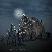 Necromancer's carriage by PLUGO