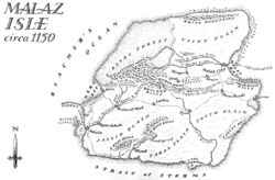 Map Malaz Isle