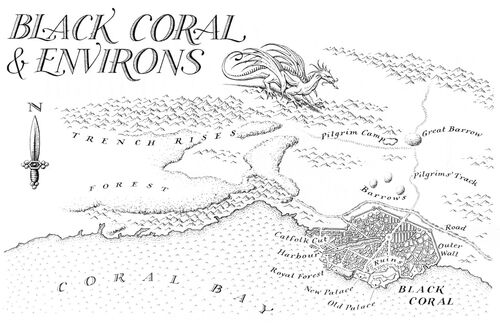 Map Black Coral