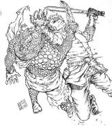 Rhulad vs Iron Bars by Shadaan