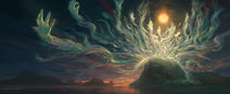 Heboric Light Touch free all his power by Noah Bradley