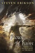 House of Chains Cover by Sam Burley
