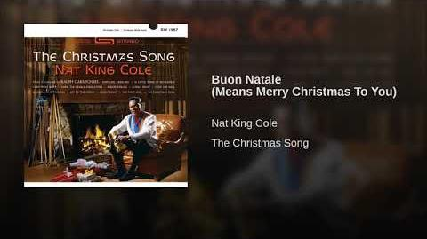 Buon Natale (Means Merry Christmas To You)