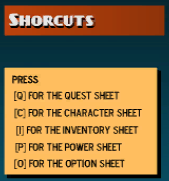 Shortcut Controls