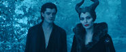 Maleficent with Diaval
