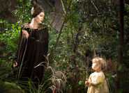 Maleficent & Young Aurora