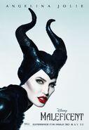 Maleficent Angelina Jolie Poster