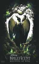 Maleficent Mistress of Evil Ajfrena Poster