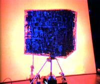 Borg cube model