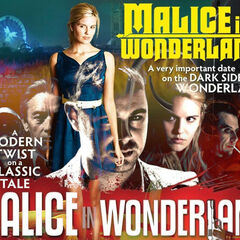 Malice in Wonderland wallpaper.