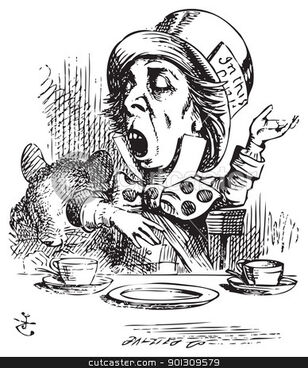 901309579-Hatter-engaging-in-rhetoric-Alice-in-Wonderland-original-vintag