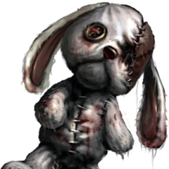 Rabbit doll.