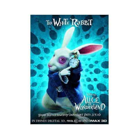 Tim Burton's White Rabbit.