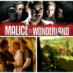 Malice in Wonderland collage.