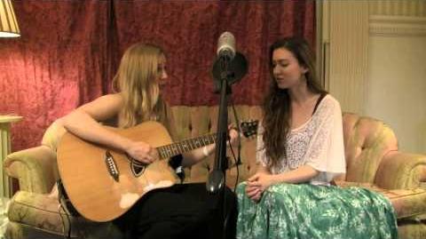 """Evergreen""-Malinda Kathleen Reese and Sam Avalon (LIVE)"