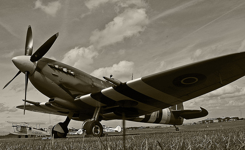 File:Supermarine Spitfire, Rochester (EGTO).jpg
