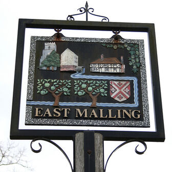 East Malling Village Sign