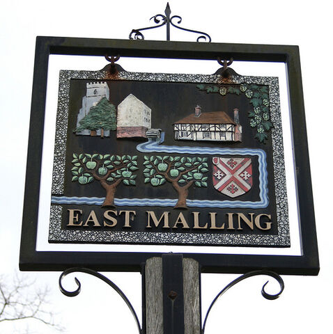 File:East Malling Village Sign.jpg