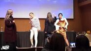 What happens during a mamamoo fansign