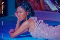 Hwasa Reality in BLACK Background